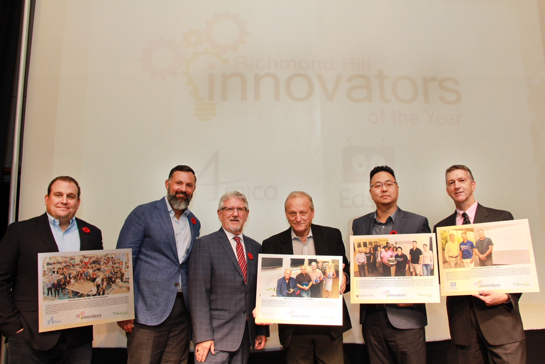 Mayor Barrow with Innovators of the Year Recipients