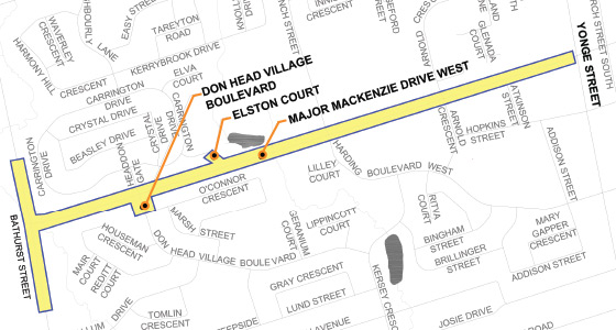 Major-Mackenzie-Watermain-Replacement-Map